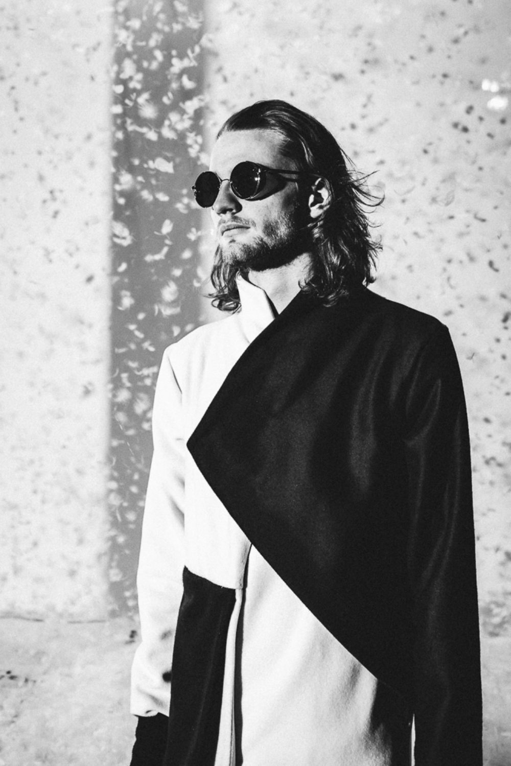 Black n White Coat