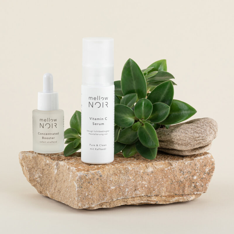 mellow NOIR Vitamin C Serum mit Concentrated Booster